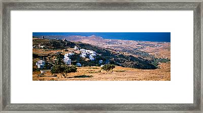 Tinos, Greece Framed Print by Panoramic Images