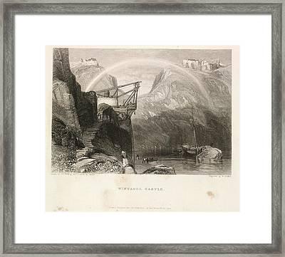 Tintagel Castle Framed Print