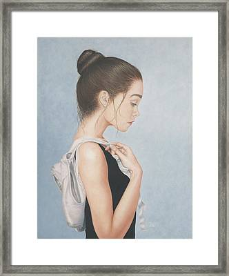 Tiny Dancer Framed Print by Dee Dee  Whittle