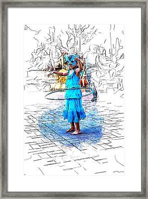 Tiny Dancer Framed Print by John Haldane