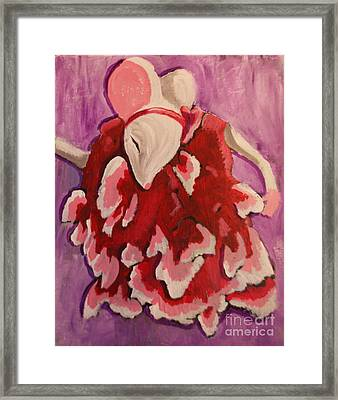 Tiny Dancer Framed Print by Wendy Coulson
