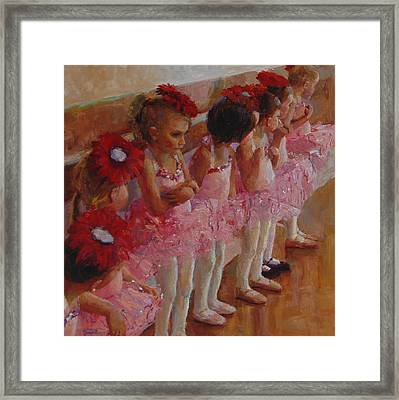 Tiny Dancers Framed Print by Jeanne Young