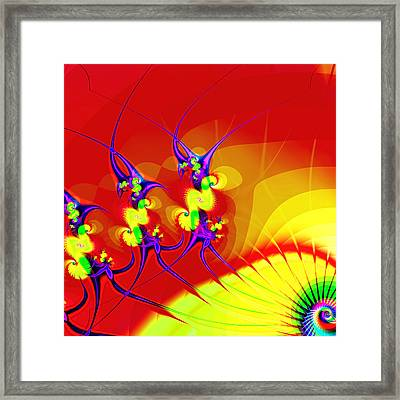 Tiny Dancers Framed Print by Wendy J St Christopher
