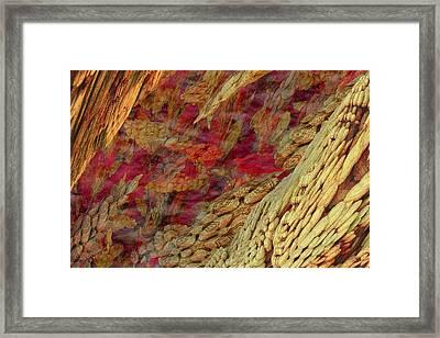 Framed Print featuring the digital art Tiny Expanse by Matt Lindley