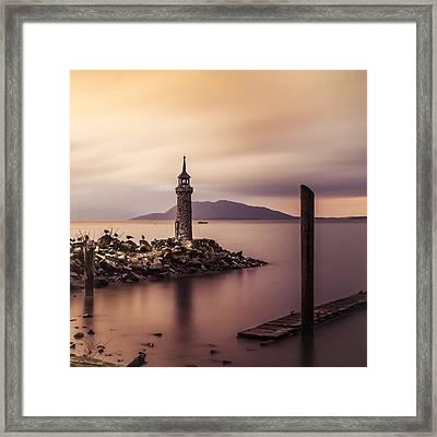 Tiny Lighthouse Framed Print