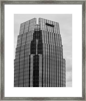 Framed Print featuring the photograph Tip Of The Pinnacle by Robert Hebert