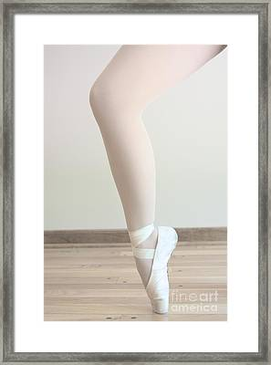 Tip Toe Framed Print by Margie Hurwich
