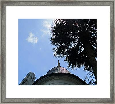Tip Top 2 Meeting Street Framed Print by Randall Weidner