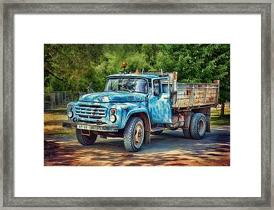 Tipper Truck Framed Print