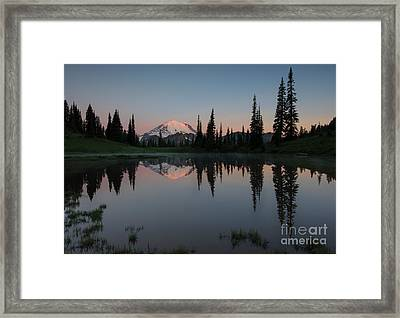 Tipsoo Dawn Framed Print
