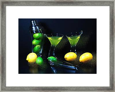 Tipsy Framed Print by Diana Angstadt
