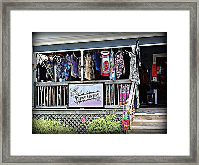 Tipsy Gypsy Framed Print by Beth Vincent