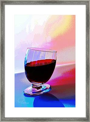 Framed Print featuring the photograph Tipsy by Ludwig Keck