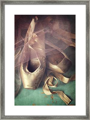 Tiptoes Framed Print by Amy Weiss