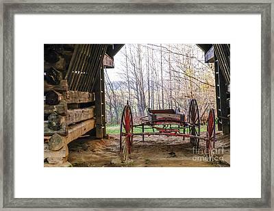 Tipton Cantilever Barn Framed Print