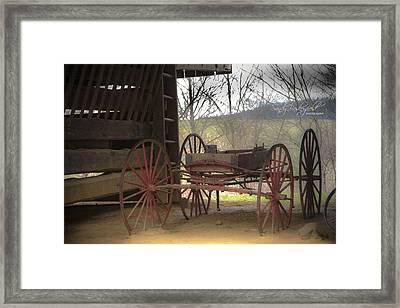 Tipton Wagon Framed Print