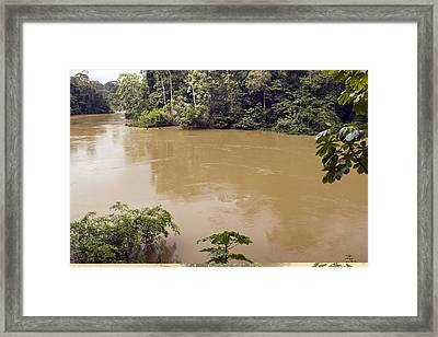 Tiputini River, Ecuador Framed Print by Science Photo Library