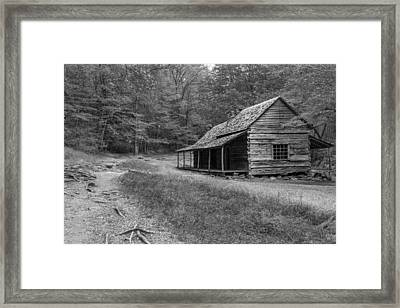 Tired And Weathered Framed Print