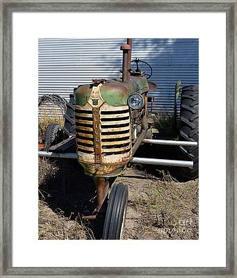 Tired Oliver Framed Print by Renie Rutten