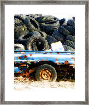 Tires Framed Print