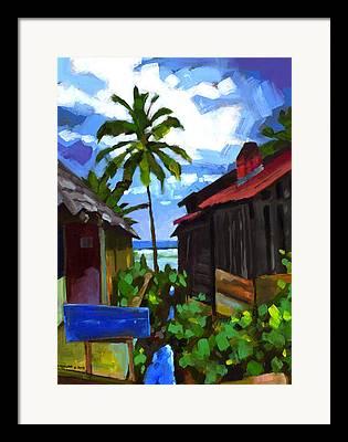Bahia Framed Prints