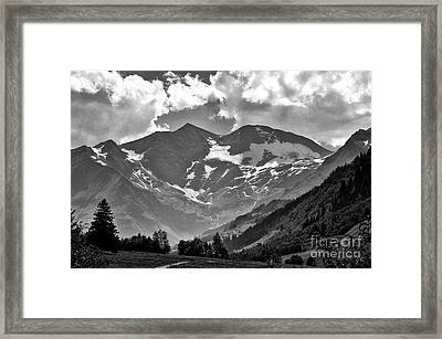 Tirol  The Land Of Enchantment Framed Print