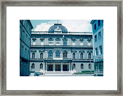 Tiroler Landes Museum 1962 Framed Print by Cumberland Warden