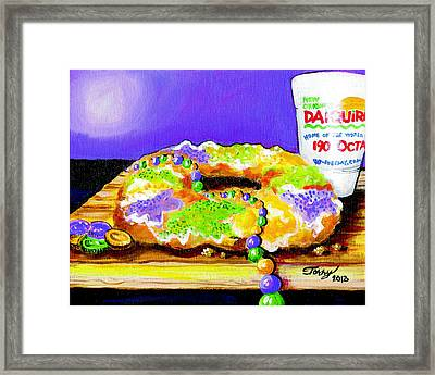 Tis Da Season Mista Framed Print by Terry J Marks Sr