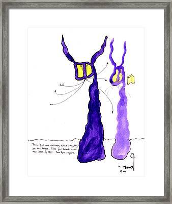 Tis Meets Ulysses Framed Print by Tis Art