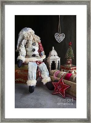 Tis The Season Framed Print by Elena Nosyreva