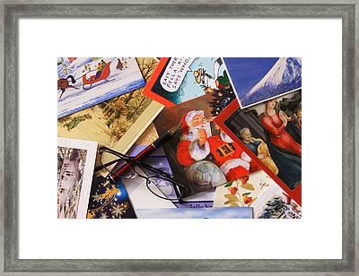 Tis The Season Framed Print by Joe Kozlowski