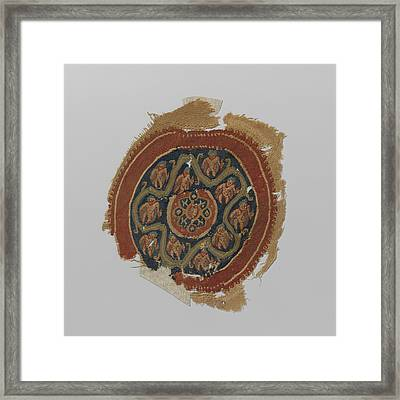 Tissue Fragment With Orbiculus, Anonymous Framed Print by Quint Lox