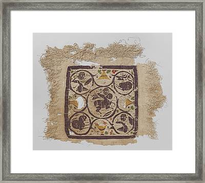 Tissue Fragment With Tabula, Anonymous Framed Print by Quint Lox