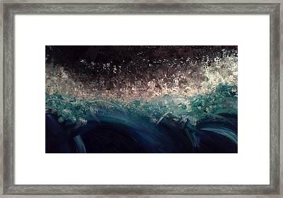 Tital Wave Framed Print by Lisa Williams