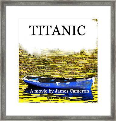 Titanic April 16th 1912 Framed Print by David Lee Thompson
