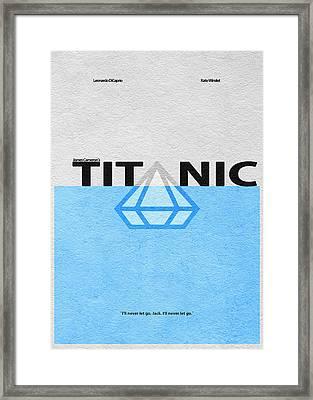 Titanic Framed Print by Ayse Deniz