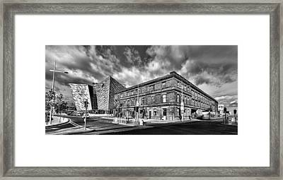Titanic Building And Former Harland And Wolff Drawing Offices Framed Print