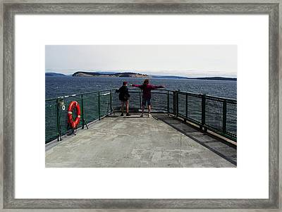 Titanic Influence Framed Print by Natalie Ortiz