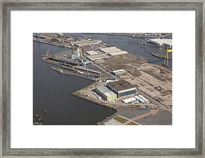 Titanic Quarter, Belfast Framed Print by Colin Bailie