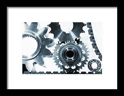 Engineer Framed Prints