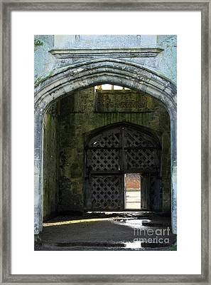 Titchfield Abbey Gatehouse Framed Print by Terri Waters