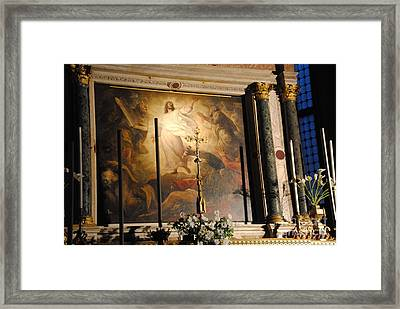 Titian Framed Print by Jacqueline M Lewis