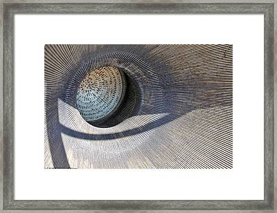 Framed Print featuring the photograph Titian Missile Exhaust by Elaine Malott