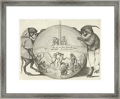 Title Print Of A Series Of Six Prints In Which Various Framed Print