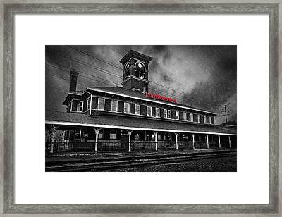 Titletown Brewing Co - Bw Framed Print by Thomas Zimmerman