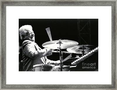 Tito Puente-1 Framed Print by Gary Gingrich Galleries