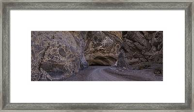 Titus Canyon Framed Print by Brad Scott
