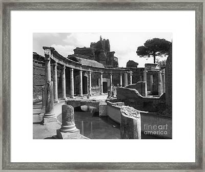 Tivoli Hadrian's Villa Framed Print by Granger