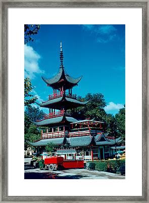 Tivoli Pagoda 1953 Framed Print by Cumberland Warden