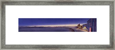 Tiwlight On The Central Plains II Framed Print by Scott Kirby